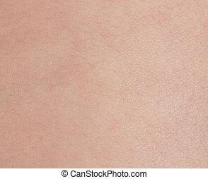 bébé, texture, peau
