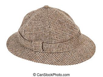 bél, kalap, houndstooth