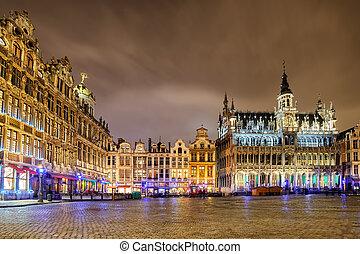 bélgica, breadhouse, lugar, bruselas, magnífico