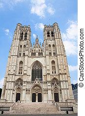 bélgica, catedral, bruselas