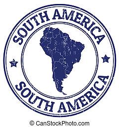bélyeg, amerika, déli