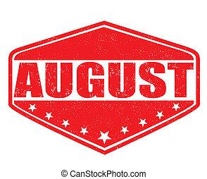 bélyeg, augusztus