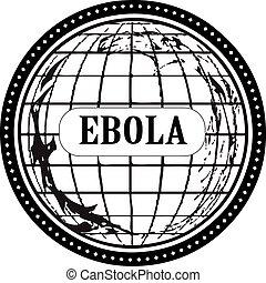 bélyeg, ebola