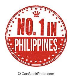 bélyeg, fülöp-szigetek, dermedt