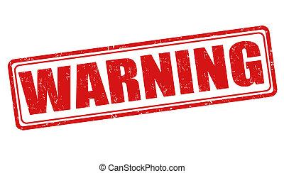 bélyeg, figyelmeztetés