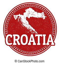 bélyeg, horvátország