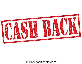 bélyeg, készpénz, hát