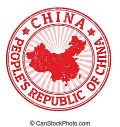 bélyeg, kína