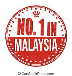 bélyeg, malaysia, dermedt