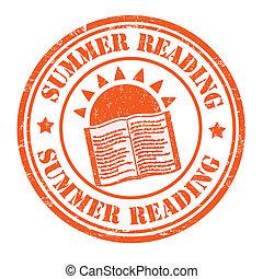 bélyeg, nyár, felolvasás