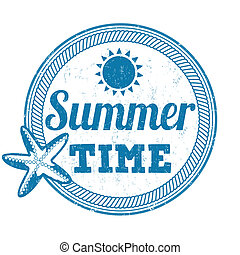 bélyeg, nyár időmérés