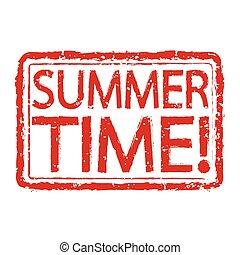 bélyeg, nyár időmérés, tervezés, szöveg