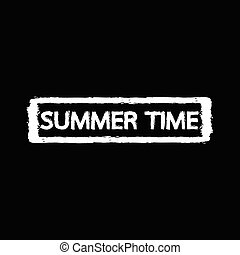 bélyeg, nyár, tervezés, ábra, idő