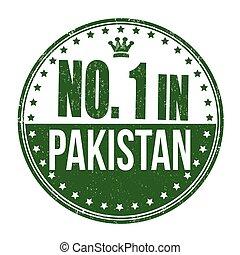 bélyeg, pakisztán, dermedt