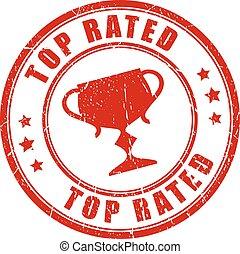 bélyeg, tető, rated