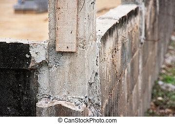 b ton poteau acier industriel cass detail poteau photographie de stock rechercher. Black Bedroom Furniture Sets. Home Design Ideas