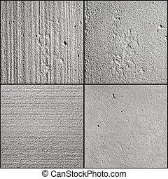 béton, surface