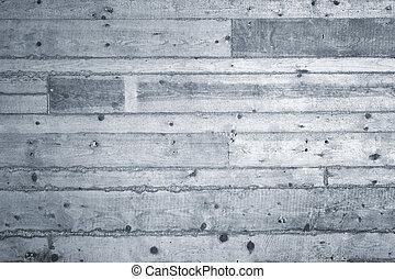 béton, traces, planche, fond