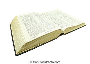 bíblia, aberta