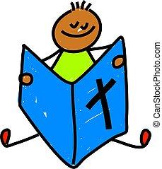 bíblia, criança