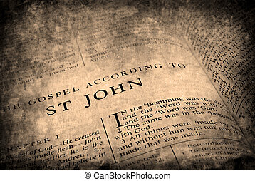 bíblia, novo testamento, st. john