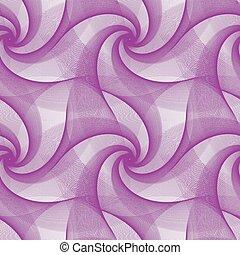 bíbor, elvont, ismétlő, fractal, példa tervezés