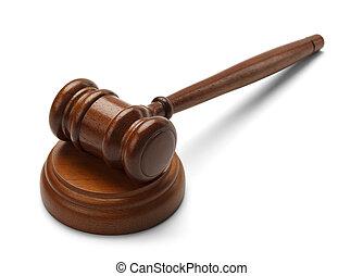 bíróság, elhalasztott