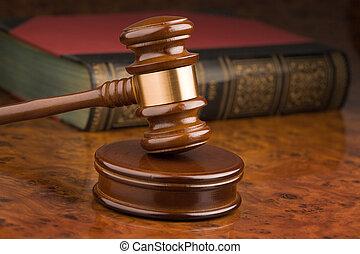 bíróság, kalapács