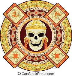 bóg, śmierć, aztecy