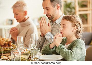 bóg, dzięki, rodzinna mąka