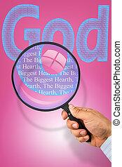 bóg, jest, przedimek określony przed rzeczownikami, najpoważniejszy, serce