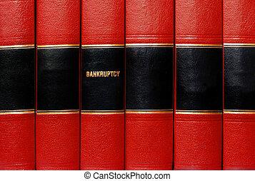 böcker, bankrutt