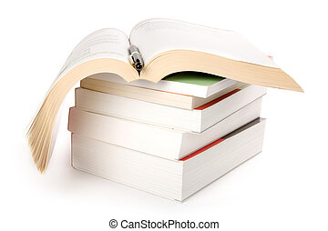 böcker, stack