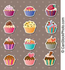 böllér, cup-cake