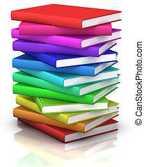 bøger, stak