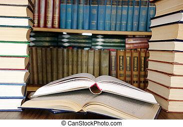 bøger, undervisning