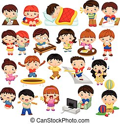 børn, aktivitet