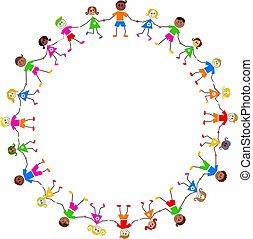 børn, colourful