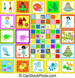 børn spille, børn, verden