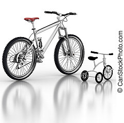børns, bike, cykel, imod