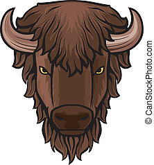 búfalo, cabeça