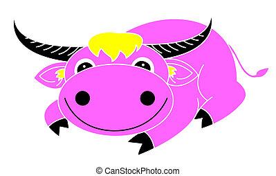 búfalo, caricatura
