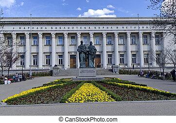 búlgaro, biblioteca nacional