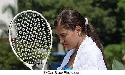 bús, női, teniszjátékos