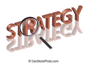 búsqueda, estrategia