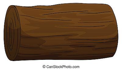 bûche, bois construction