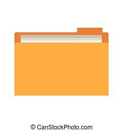 büroordner, dokument, ikone