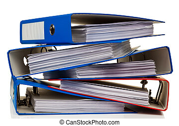 büroordner, dokumente, datei