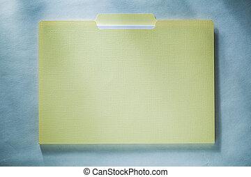 büroordner, papier, weißer hintergrund