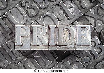 büszkeség, szó, fémből való